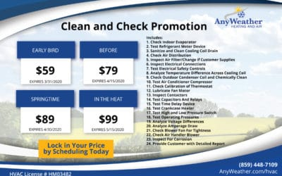 Clean and Check Promotion