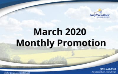March 2020 HVAC Promotions